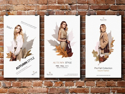 Autumn Collection Moodboard Design