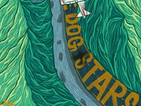 The Dogs Stars 1 dystopian design process digital illustration procreate illustration procreate procreate app illustration typography