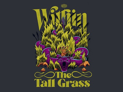 Within The Tall Grass leave no trace outdoor awareness rattlesnake explore outdoors nature natural resources design procreate typography digital illustration procreate illustration procreate procreate app typography illustration