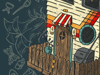 Leave Room For Adventures_Detail 1 leave no trace outdoor brand outdoor recreation procreate illustration digital illustration procreate typography procreate app illustration