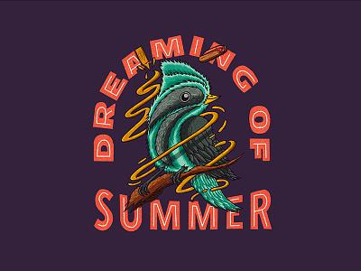 Dreaming of Summer summer vibes digital illustration procreate illustration procreate procreate app illustration
