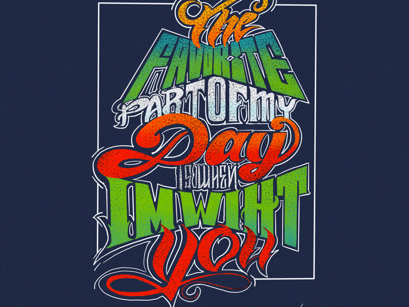 Typography exercise procreate app typography lettering procreate