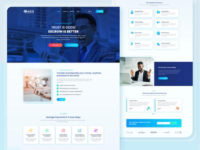 Money Transfer Web UI web ui design clean ui ux service finance fintech clean web ui website