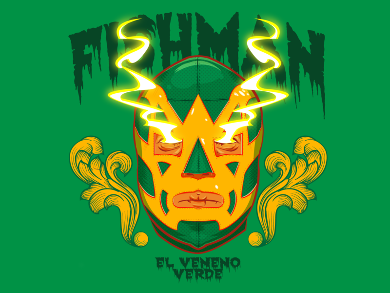 Fishman luchador fish fishman vectorart digital painting digital illustration digital illustrator digitalart vector illustrator illustration vector illustration design