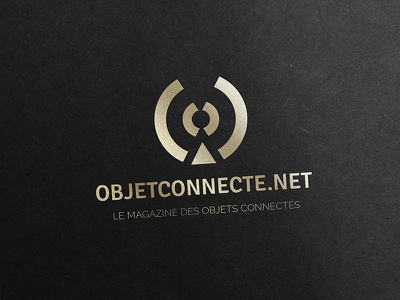 Objetconnecte.net branding identity logotype logo internet connected corporate clean simple