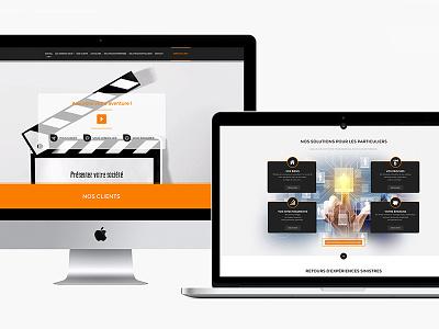 Assurances D- corporate immersive interface design ui ux ux design ui design photoshop design web design website web