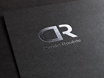 DR logo branding logos graphic design logotype simple clean design vector logo design typography lettering identity