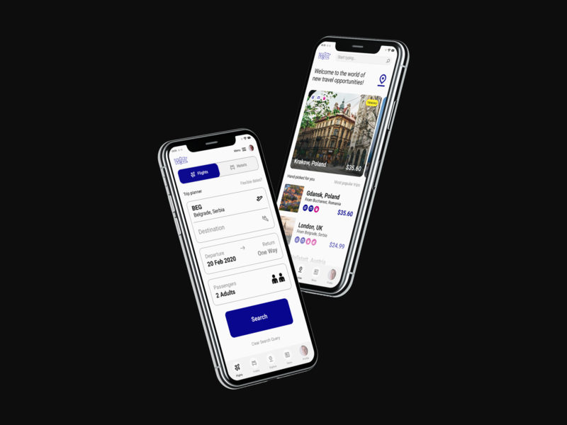 WizzAir - App Redesign Concept travel airlines airline white modern clean minimalistic minimalist minimal web design web product designer product design product app ui ui designer ui app designer app design app