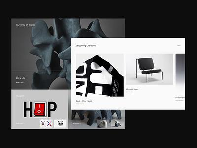 Eleventh - Web Design Exploration website concept website design web design webdesign website web typography type modern minimalistic minimal gallery editorial designer design conceptual concept