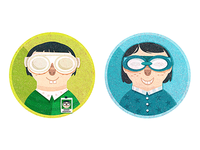 Nerd Badges