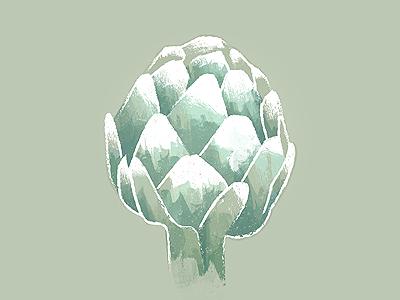Artichoke illustration vegetable artichoke