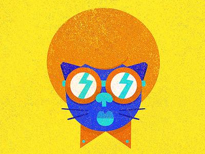 Disco Cat disco illustration cat