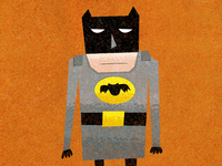 Unimpressed Batman