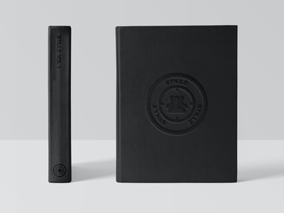 Rolling Loud X Stillz Polaroid Book Cover and Spine rolling loud stillz embossing embossed hardcover design book cover design spine book cover