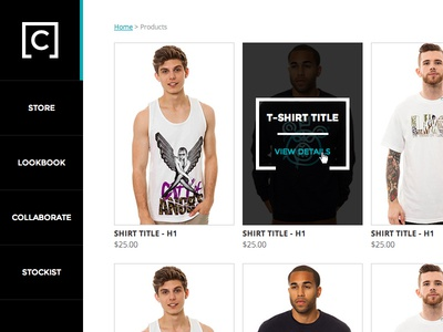 Coup Apparel Product Page