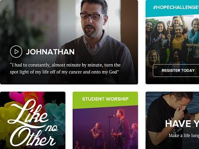 Turn the spotlight onto god! worship christian god jesus audio video media grid content dynamic