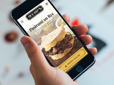 Why wait in line? Order Online! online ordering ios app mobile restaurant food