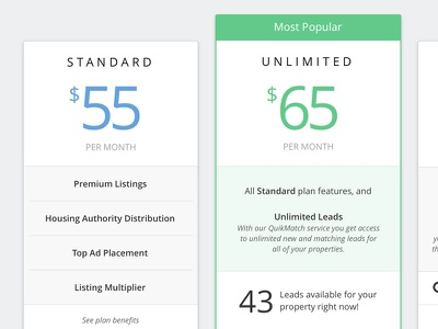 The price is right! popular ui pricing plan plans upsell upgrade pricing