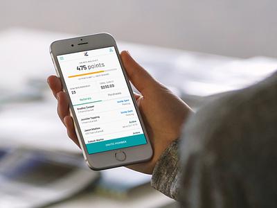 Consumer Mobile App UI for Cannabis Loyalty and Rewards Program referral program referral invite friends cannabis branding product design ui ux consumer goods consumer web app kush rewards