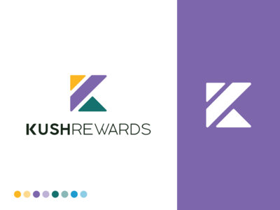 Cannabis Loyalty and Rewards Branding for Kush Rewards