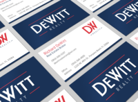 Dewitt Realty Business Cards
