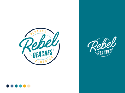 Rebel Beaches Brand Identity