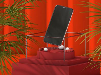 3D Iphone design c4d