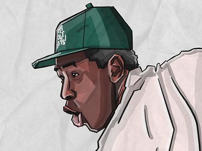 Tyler igor illustration music rap tyler the creator