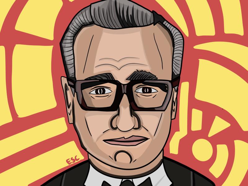 Martin Scorsese portrait illustration portrait director film scorsese irishman