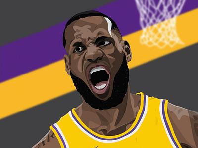 LeBron James for Sideline App sideline app sports basketball los angeles lakers lebron james