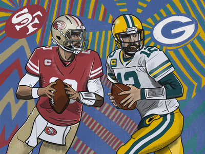 NFC Championship game green bay packers 49ers jimmy garoppolo aaron rodgers nfl nfc championship game