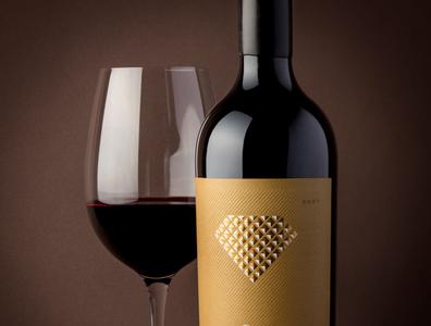solitaire wine label by the labelmaker wine branding strategic branding wine label wine packaging wine label design calligraphy best wine label jordan jelev the labelmaker