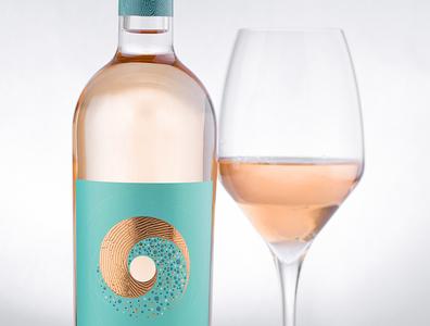 Sarva Rose Wine Label Design wine packaging wine design wine branding dragomir winery sarva wine wine label designer wine label designers wine label design best wine label the labelmaker jordan jelev