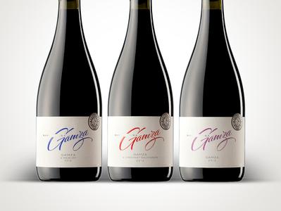 Novoselska Gamza jordan jelev calligraphy lettering strategic branding wine branding wine label wine packaging wine label design best wine label the labelmaker