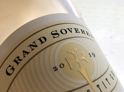 grand sovereign by the labelmaker wine label designer labelmaker strategic branding wine label wine branding wine packaging wine label design best wine label the labelmaker jordan jelev