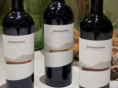 Dragomir Special Selection dragomir wiery wine label strategic branding wine packaging wine branding wine label designer wine label design best wine label jordan jelev the labelmaker