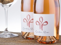 Gaetan Rose Wine label design by the Labelmaker