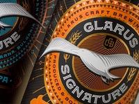 Glarus Signature Craft Beer Label Design by the Labelmaker