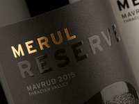 Merul Wine Packaging Design by the Labelmaker