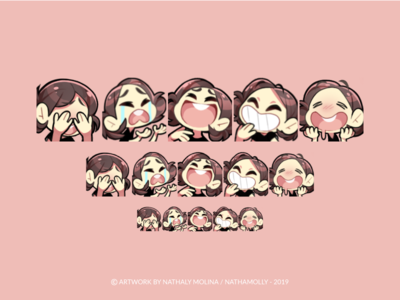 Twitch Emotes - nathamolly