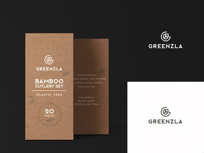 Logo and packaging for Greenzla brand