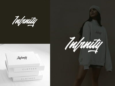Infinity. Logo for cloth brand