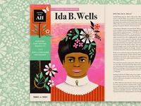 Ida B. Wells Illustration