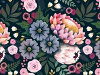 King Protea pattern