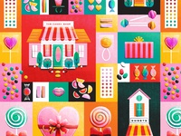 Candy Shop Pattern