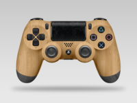 Ps4 Controller  1.0  Wood-Slate