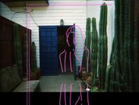 A Girl photography illustration design