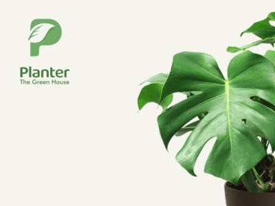 planter brand design logo design typography icons lettering minimal logodesign illustration design corporate branding branding