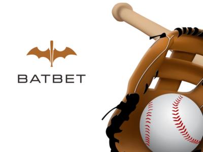 batbet brand identity brand icon icons lettering minimal typography logo logodesign illustration corporate branding branding