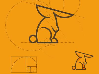 Rabbit logo design logotype logodesign minimal logo design vector corporate branding logo design illustration branding
